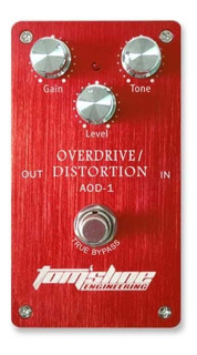 Pedal De Guitarra Tomsline Aod-1 Overdrive Distorsion Oferta