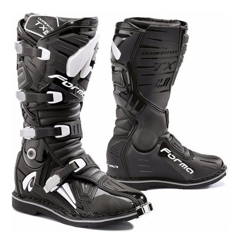 Botas Motocross Forma Dominator Tx Black