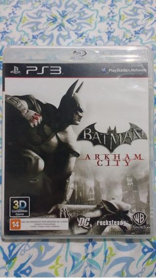 Batman Arkham City - Mídia Física - Ps3