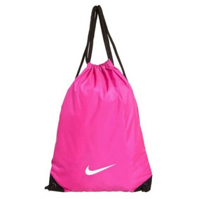 Sacola Nike Gs Swoosh Pink Tamanho A45 X L34