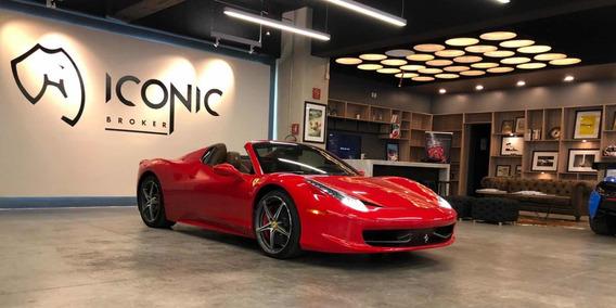 Ferrari 458 4.5l Spyder Mt 2014