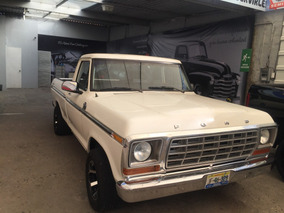 Ford F100 Clasica 1978 Impecable