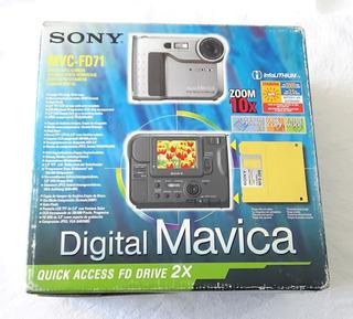 Sony Mavica Mvc-fd71 Camara Digital Clasica 1998 Floppy Disk