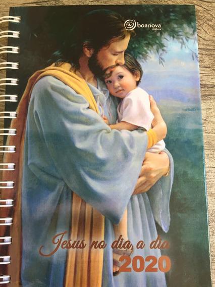 Agenda Jesus No Dia A Dia 2020 - Espiral - Editora Boa Nova