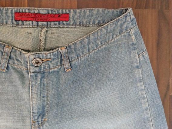 Calça Ellus Feminina Jeans 40 Azul Promoção Única Original