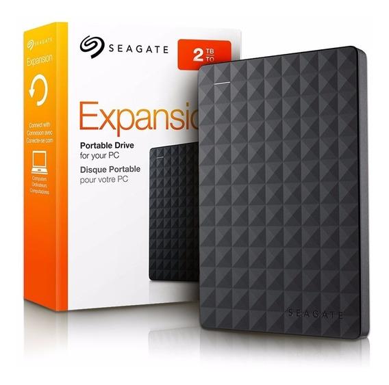 Hd Seagate Expansion 2tb Portátil Usb 3.0
