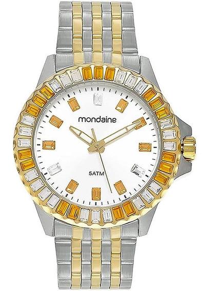 Relógio Feminino Mondaine 94702lpmvba1 Aço Misto