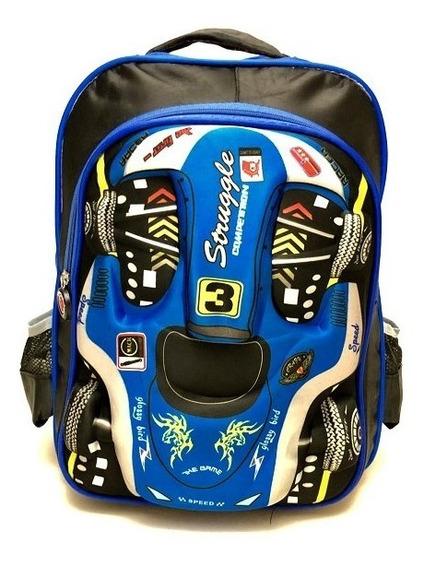 Promoção Mochila Escolar Infantil Ferrari 3d