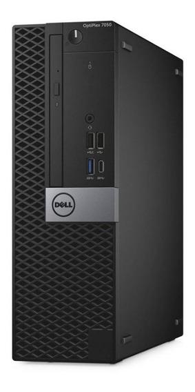 Dell Optiplex 7050 Sff, Core I7-7700, 8gb, Usb 3.1 Type-c, Wifi, Dvdrw, Windows 10 Pro, Garantia Até 2022.