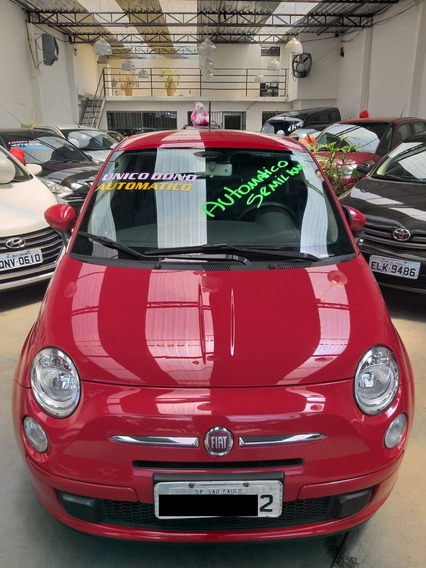 Fiat 500 Automático 2012 58 Mil Km