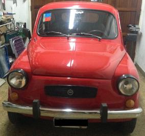 Fiat 600e 1967 Impecable Todo Nuevo Vtv Al Dia Listo P/tran