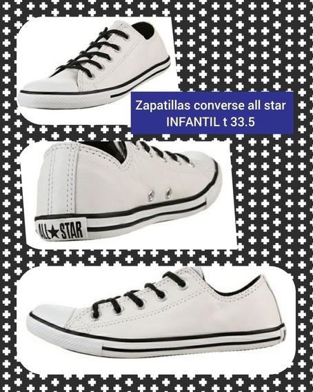 Zapatillas Converse All Star 33.5 Nuevas