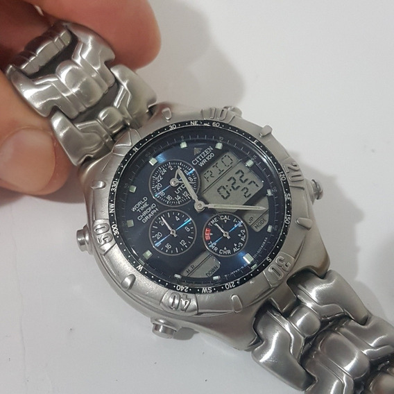 Relogio Citizen Horamund Masculino C300antigo Do Vovo Lindo