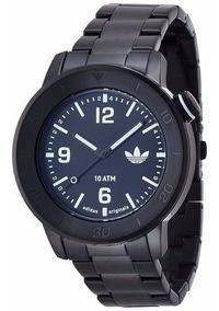 Relógio adidas Adh2976 Metal Preto Novo Original
