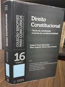 Direito Constitucional Tomo 1 - Juspodivum - Sinopses Para C