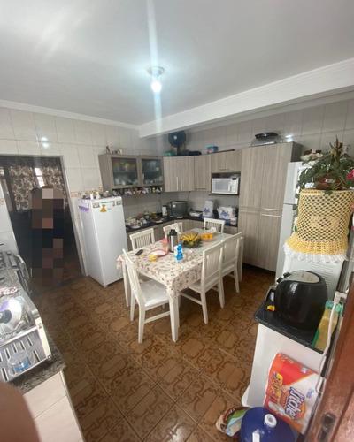 Imagem 1 de 17 de Sobrado A Venda - 2 Dorm , Sala, Copa E Cozinha, Terraço, 01 Edicula E 02 Vaga - 136m2 - Jd Brasil - V2824 - 69801181