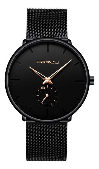 Los Hombres De La Moda Reloj De Cuarzo Simple Dial Brillante