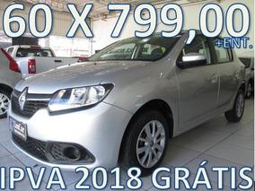 Renault Sandero 1.6 Expression Entrada + 60 X 799,00 Fixas
