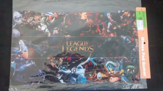 Mousepad Gamer Lol League Of Legends Tecido Emborrachado