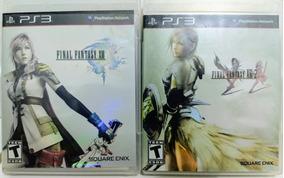 Final Fantasy Xiii E Xiii-2 Para Ps3 - Midia Física
