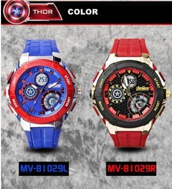 Relógio Vingadores Frete Grátis!!!