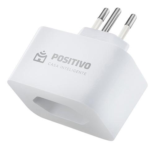 Tomada Smart Plug Wi-fi Positivo - Compatível Com Alexa
