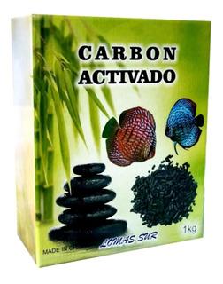 Carbón Activado X 1kg Fltrado Agua Dulce Y Salada