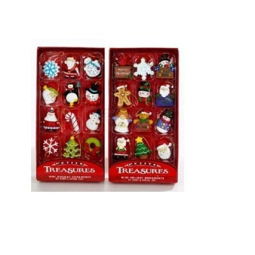 Imagen 1 de 1 de Kurt Adler Petite Treasures 12-piece Miniature Ornaments Set