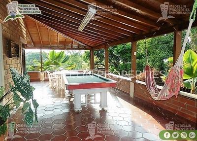Casa Finca Amoblada En San Jerónimo Cód: 4404