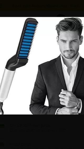 Pente Elétrico Modelador Alisador Barba E Cabelo 110/220 Vts