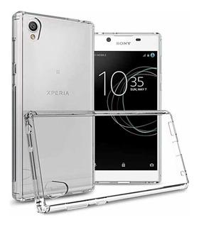 Kit Capa Tpu Sony Xperia L1 + Película De Vidro Xperia L1