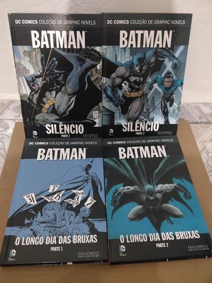 Coleção Com 8 Hqs Clássicas Dc Comics Eaglemoss!