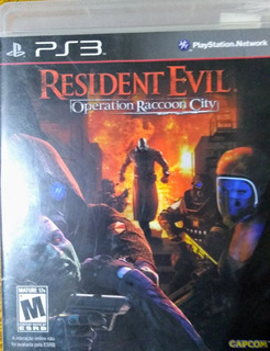 Resident Evil Operation Racoon City Juego Fisico Ps3 Español