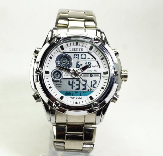 Relógio Masculino Analógico Digital Variações De Cores