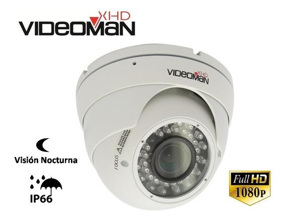Cámara Minidomo Varifocal Fhd 1080p-exterior-infrarrojo 30m