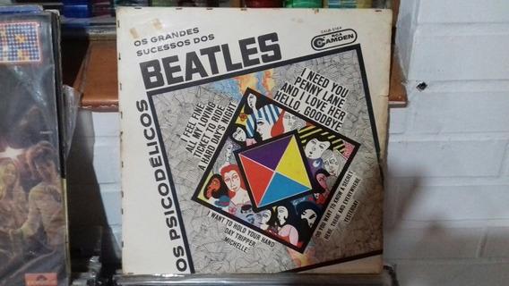 Os Psicodelicos Os Grandes Sucessos Dos Beatles Lp Raro