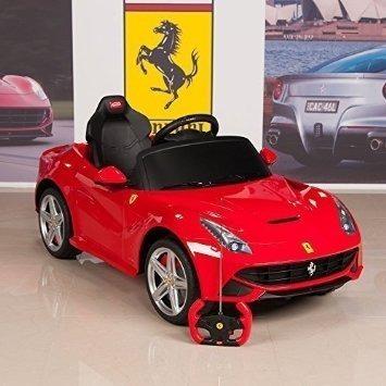 Auto A Bateria La Ferrari F-12 Rastar Radio Control Y Manual