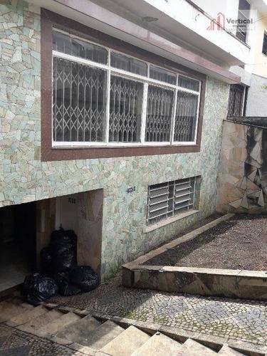 Imagem 1 de 6 de Casa Com 3 Dormitórios, 250 M² - Venda Por R$ 1.200.000,00 Ou Aluguel Por R$ 5.000,00/mês - Jardim Anália Franco - São Paulo/sp - Ca0225