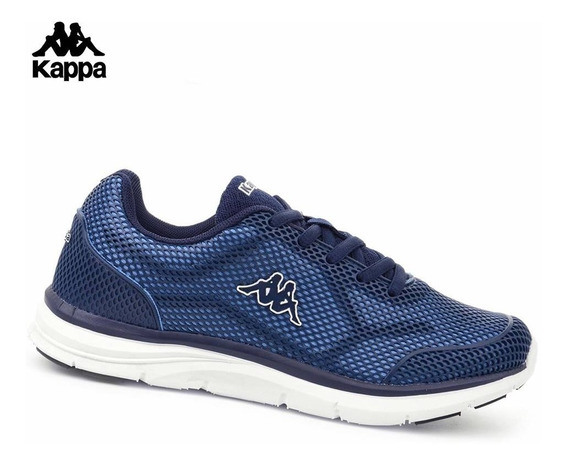 Zapatilla Deportiva Kappa Hombre Logo Quantum 2 Azules