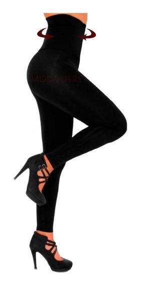 Calza Termica Modeladora Chupin Faja 22cm Lycrafriza Xs-xxl