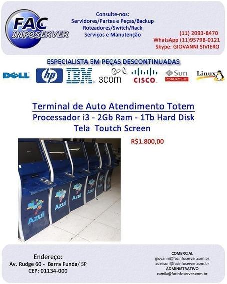 Terminal De Auto Atendimento Totem
