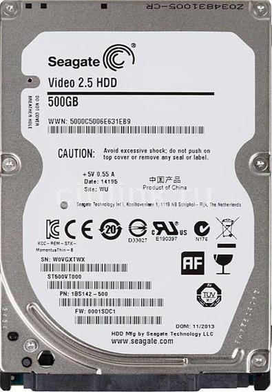 Hd Seagate Notebook 500gb Slim 7mm Sata 3 Novo E Lacrado