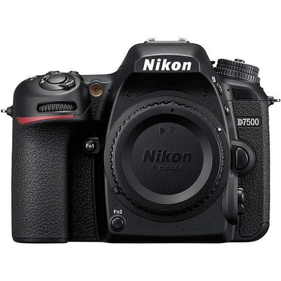 Câmera Nikon Dslr D7500 - Somente O Corpo - Loja Platinum