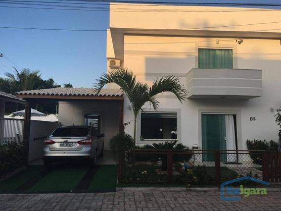 Casa Com 2 Dormitórios À Venda, 300 M² Por R$ 650.000 - Buraquinho - Lauro De Freitas/ba - Ca0178