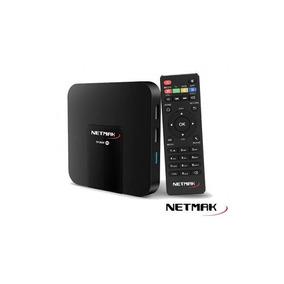 Smart Tv Box 4k Netmak Nm-tvbox1 (android 7.1/wifi/1gb)