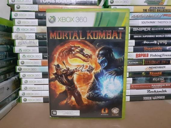 Jogo De Luta Mortal Kombat Xbox 360 Original Mídia Física