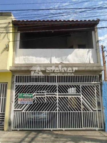 Imagem 1 de 6 de Venda Sobrado 4 Dormitórios Parque Continental Ii Guarulhos R$ 480.000,00 - 34709v