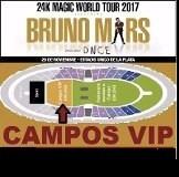 Bruno Mars Campo Vip