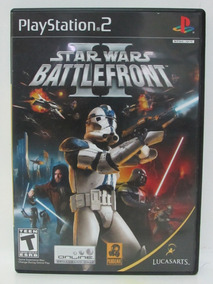 Ps2 - Star Wars Battlefront 2 - Game Original E Completo