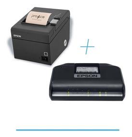 Combo Sat Epson - Impressora Tm-t20 E Sat-a10 - Oferta